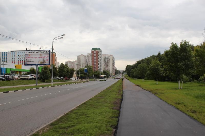 Москва. Улица Островитянова