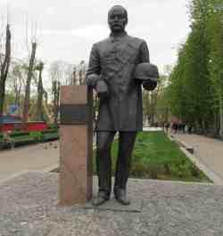 Памятник Лопатину А.Г. Лопатинской сад (Смоленск)