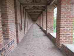 Часть смоленской крепостной стены. Лопатинской сад (Смоленск)