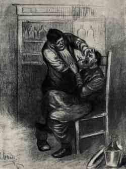 Иллюстрация к рассказу Чехова «Хирургия» (Апсит Александр Петрович, 1880 – 1944)