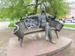 Памятник Анатолию Папанову (Вязьма)