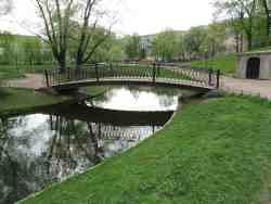 Мост. Юсуповский сад (Санкт-Петербург)