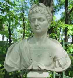Веспасиан. Римский император. Ф. Кабианка, Италия, ок. 1717 г. Летний сад (Санкт-Петербург)