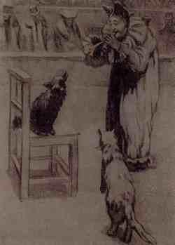 Каштанка (Д. Н. Кардовский, 1866 – 1943)