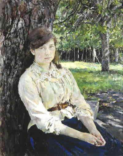 Девушка, освещенная солнцем (Серов В.А.)