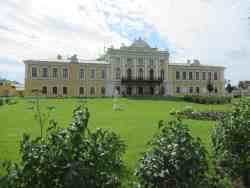 Дворцовый сад. Тверская областная картинная галерея (Тверь)