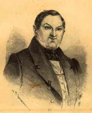 Чичиков (художник Боклевский Пётр Михайлович, 1816 – 1897)