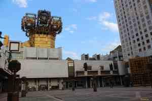 Дворик и башенка с часами. Здание Российской Академии наук (Золотые мозги) (Москва)