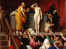 Продажа невольницы, Жан-Леон Жером, 1884 г., Эрмитаж