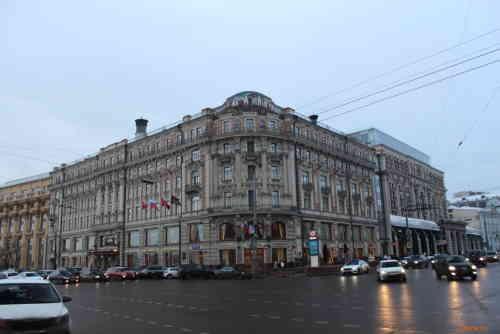 Москва. Гостиница Националь