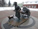 Санкт-Петербург. Музей воды. Памятник водовозу