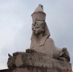 Санкт-Петербург. Сфинксы на Университетской набережной