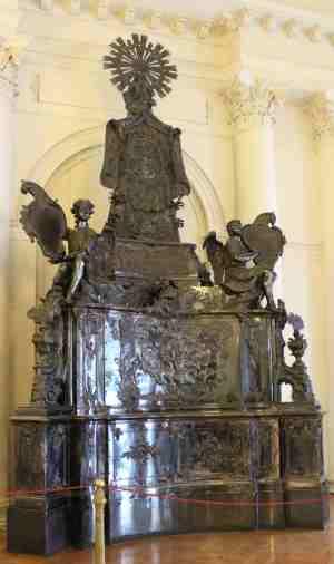 Серебряная гробница Александра Невского. Зимний дворец. (Санкт-Петербург)