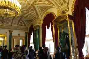 Малахитовый зал. Зимний дворец. (Санкт-Петербург)
