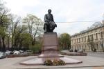Санкт-Петербург. Памятник Ломоносову Михаилу Васильевичу