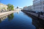 Санкт-Петербург. Набережная реки Мойки