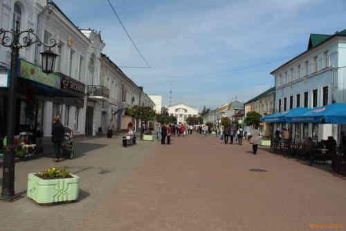 Калуга. Театральная улица