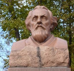 Москва. Памятник Циолковскому