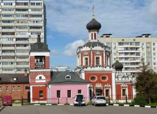 Церковь Троицы Живоначальной в Конькове (Москва)