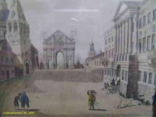 Елисеевский магазин. Вид здания в 1800-х годах