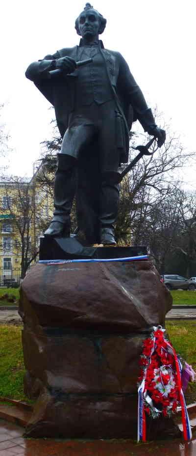 Симферополь, Памятник Суворову Александру Васильевичу