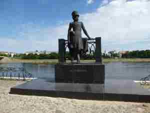Памятник Пушкину, Тверь, Набережная Михаила Ярославовича