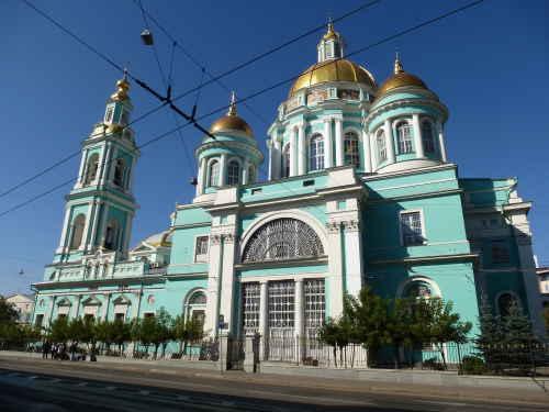 Богоявленский собор в Елохове (Москва)