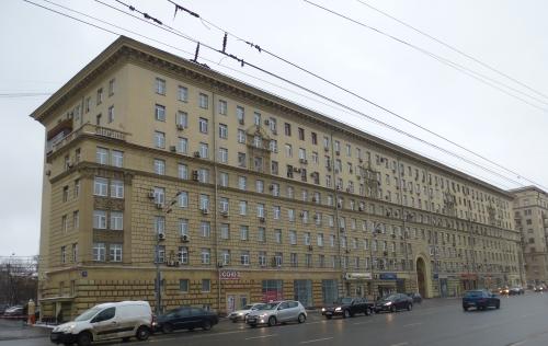Москва, Ленинский проспект дом 11 строение 1