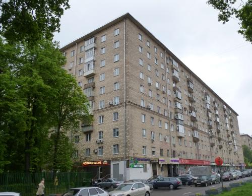 Москва, Ленинский проспект дом 67