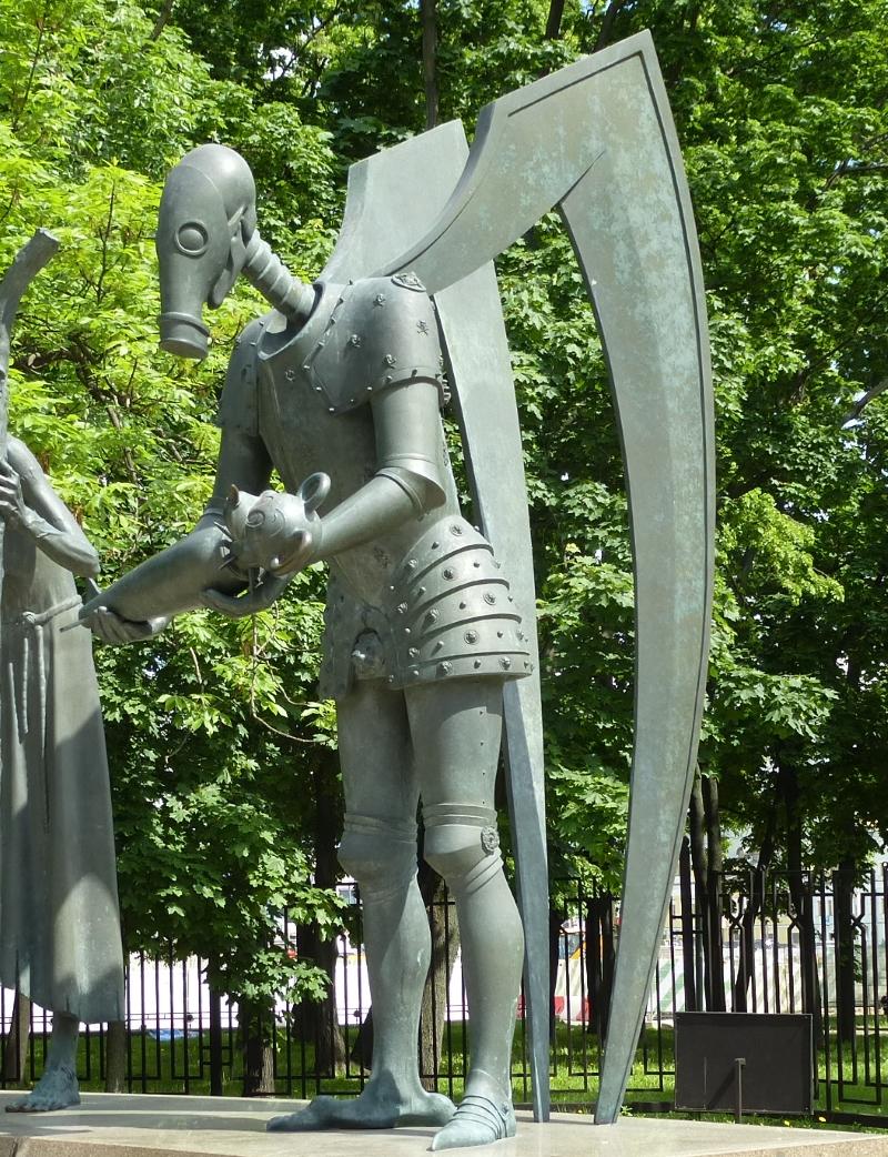 Скульптурная композиция «Дети — жертвы пороков взрослых»
