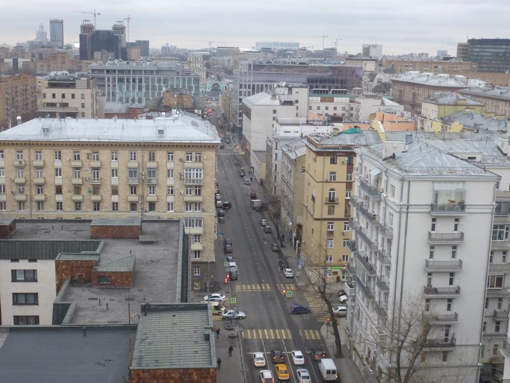 Москва. 1-я Брестская улица