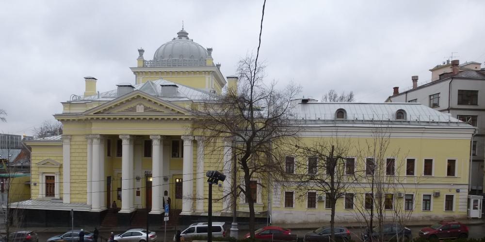 Москва. Московская хоральная синагога