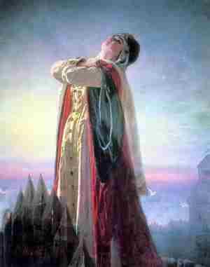 Плач Ярославны. Перов В.Г., 1881 г.