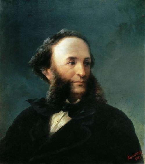 Автопортрет И. Айвазовского (1874)