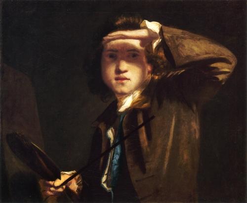 Автопортрет Джошуа Рейнольдса, 1747 г.