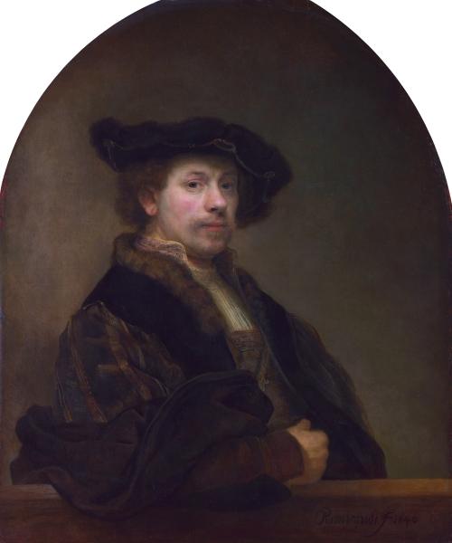 Автопортрет Рембрандта, 1640 г.