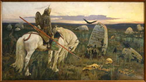 Витязь на распутье (В.М. Васнецов)