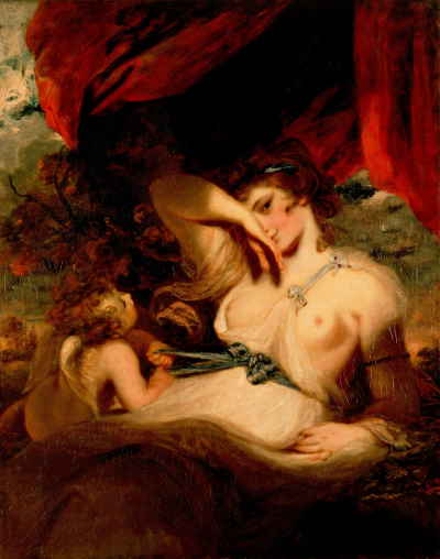 Амур развязывает пояс Венеры (Рейнольдс Джошуа)