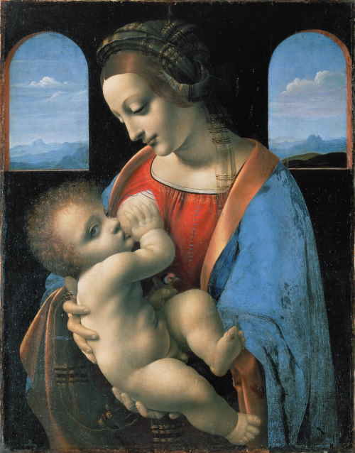 Мадонна с Младенцем (Мадонна Литта) (Леонардо да Винчи)