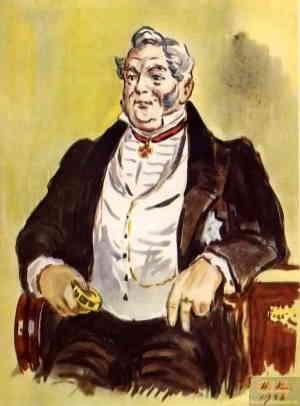 Фамусов (художник Кузьмин Николай Васильевич, 1890 – 1987)