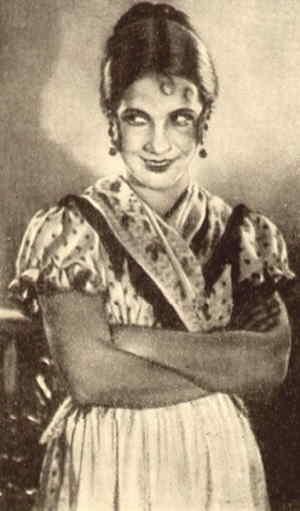 Лиза в исполнении актрисы Е. Карякиной