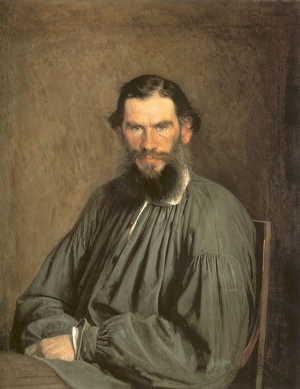 Портрет Л. Н. Толстого (1873 г.), художник Крамской И.Н.