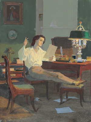 Владимир Ленский, художник Белюкин Д.А.