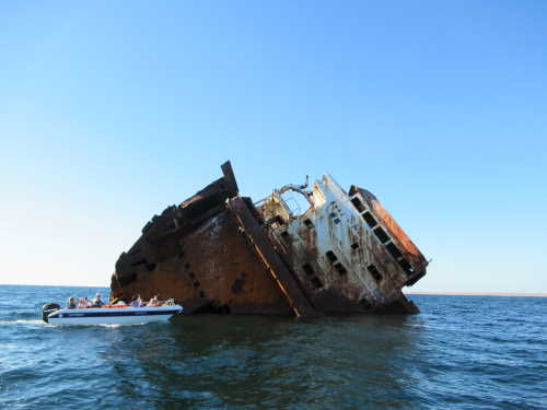 Затонувший корабль (Оленевка)