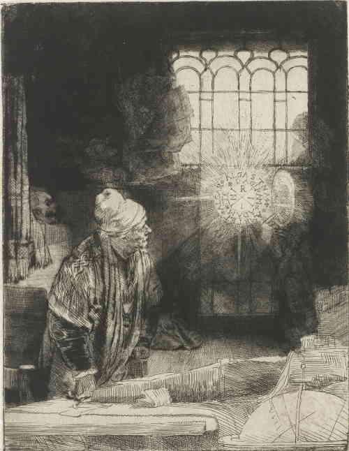 Фауст (гравюра Рембрандта)