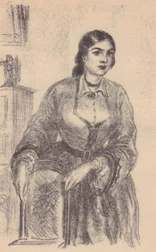 Вера Павловна Розальская (художник Милашевский В. А. (1893 – 1976))