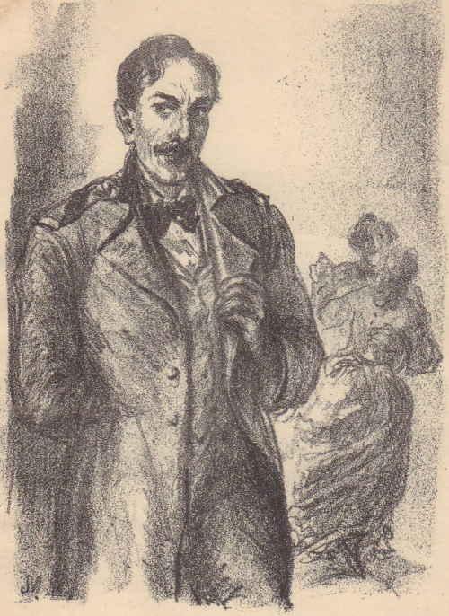 Лопухов Дмитрий Сергеич (художник Милашевский В. А. (1893 – 1976))