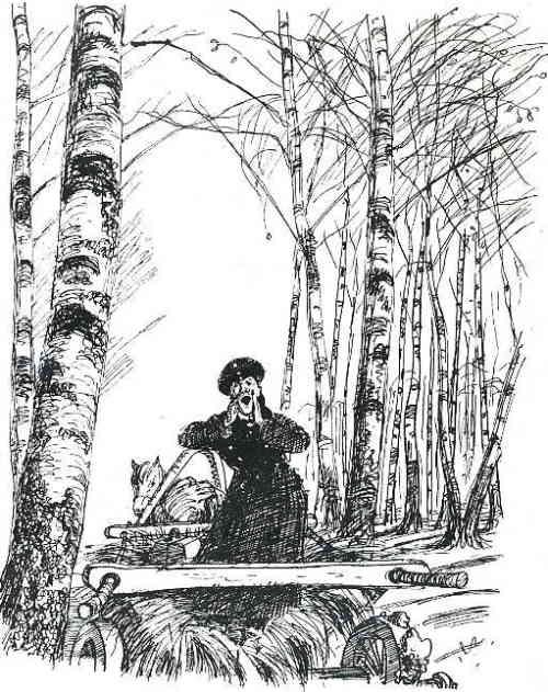 Пересолил (художник А. Каневский, 1946 г.)