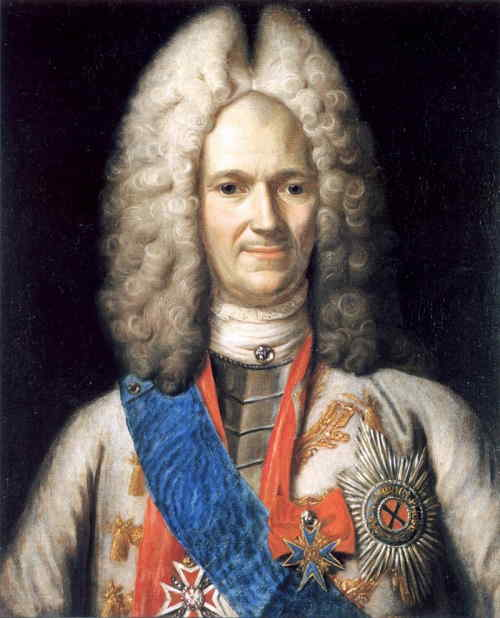 Портрет А. Д. Меншикова. 1716 – 1720 гг. (неизвестный художник)