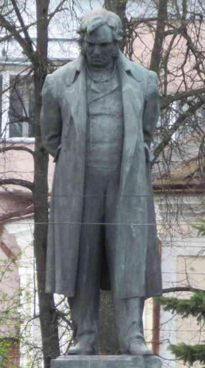Памятник Крылову И.А. (Тверь)